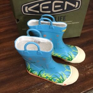 Keen Girls Youth Rain Boots